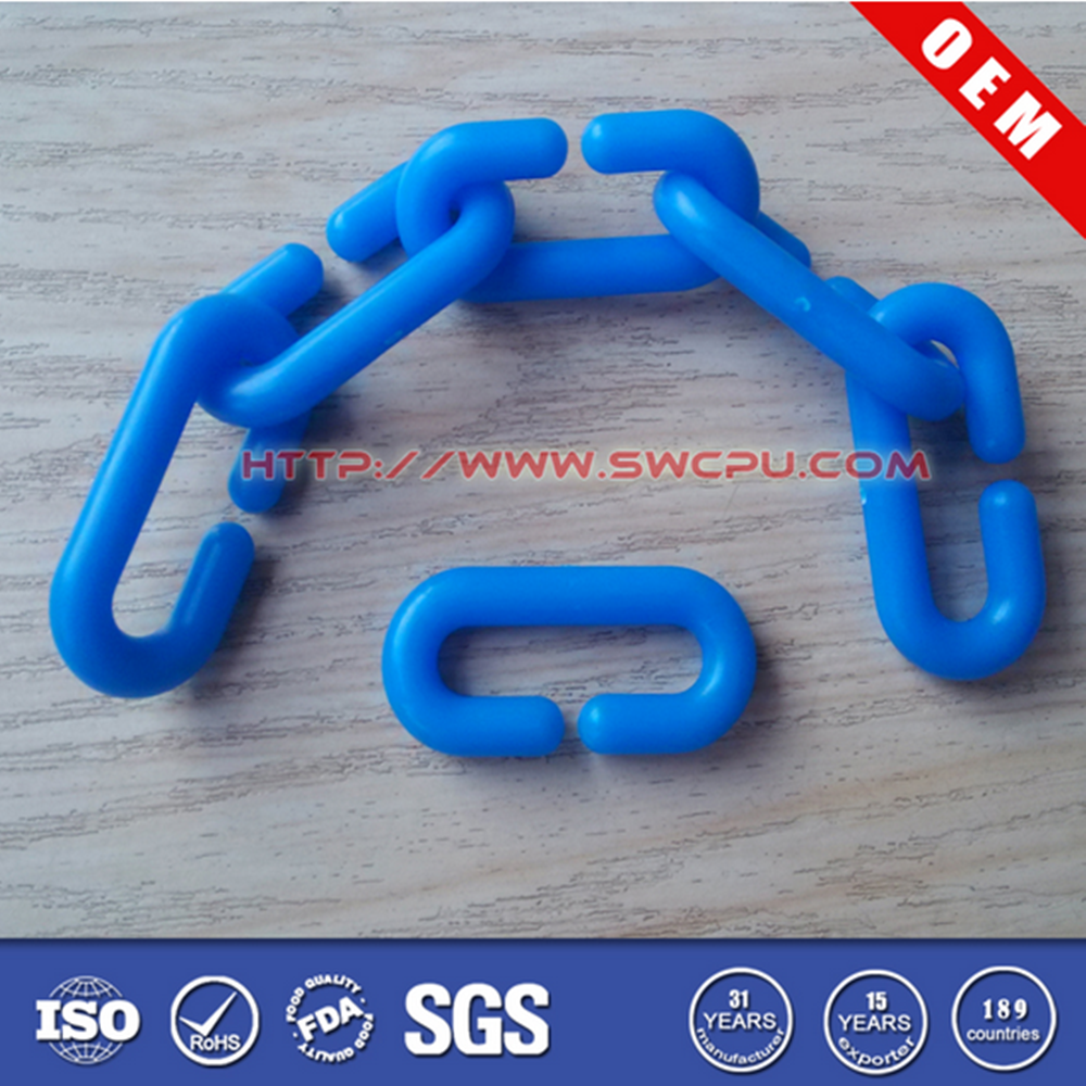 Colorful plastic snap C rings