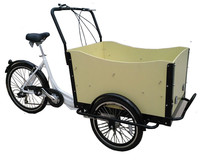2015 hot sale three wheel cargo trike / bike / tricycle / bicycle electric