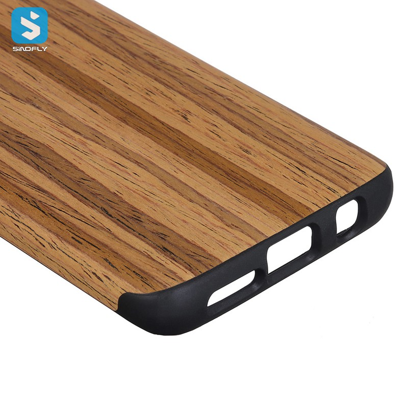 amazon top seller 2018 Wooden TPU Case for Samsung Galaxy S9 Plus ,mobile phone cases accessory