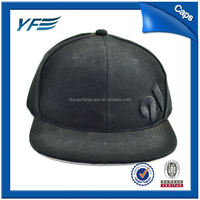 Custom Flat Brim Cap Embroidery Designs Snapback Hats