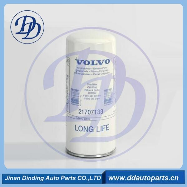Filter Manufacturer Diesel engine Excavator Oil Filter use for VOLVO 21707133 21707134 21707132