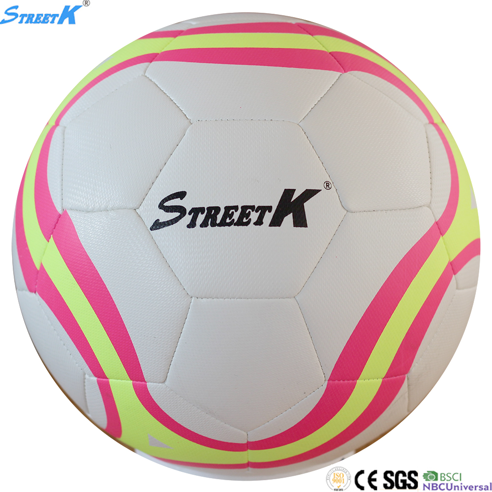 Streetk Brand lot of soccer balls wholesale 2016 world cup rubber football ball