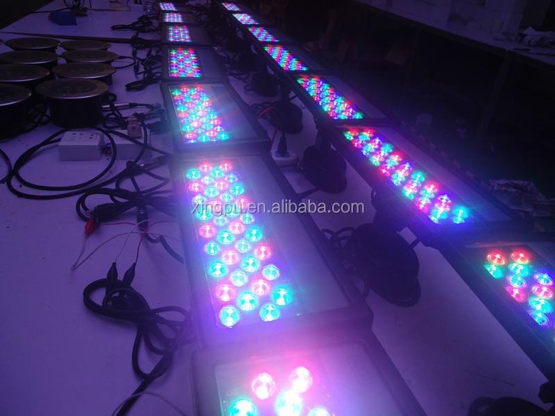 Multi colored flood lights outdoor : Landscape light dmx rgb led flood multi color