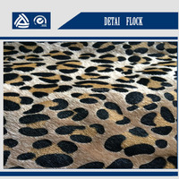 factory price 5% off textile raw material wholesale zebra artificial fur for shoes