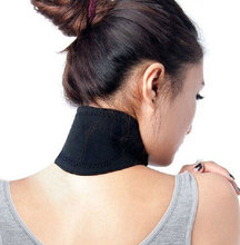 Tourmaline self heating warmer shoulder massager natural physical therapy neck support