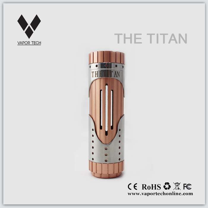 New arrival Authentic Titan mechanical ecig mod 26650 mod hades mod stingray