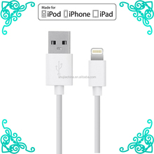 New products 2016 innovative product mfi usb cable for iphone 5s charger cable adapter for iphone 6 mfi data cable