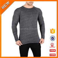 Top selling blank t shirt oversize printed t shirts for men photo long sleeves o neck t shirts in factory price