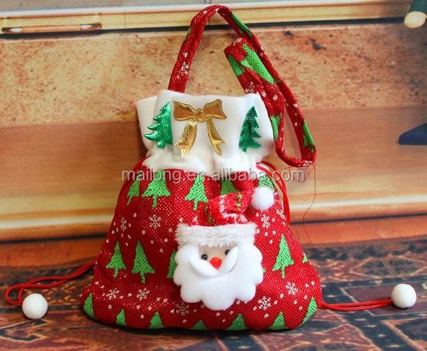 Christmas decorations The new Santa Claus gift bags Christmas candy bags Christmas gift bags pn6798