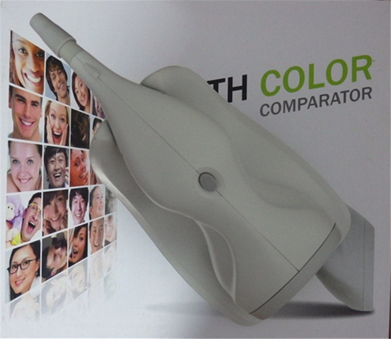 Dental Tooth Color Shade Guide Comparator/teeth whitening shade guide