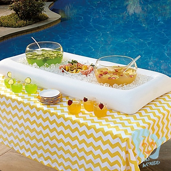 customize outdoor party inflatable serving pool bar for sale