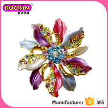 Magnetic flower brooch pin of jewellery