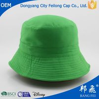 Plastic american flag bucket hat made in China