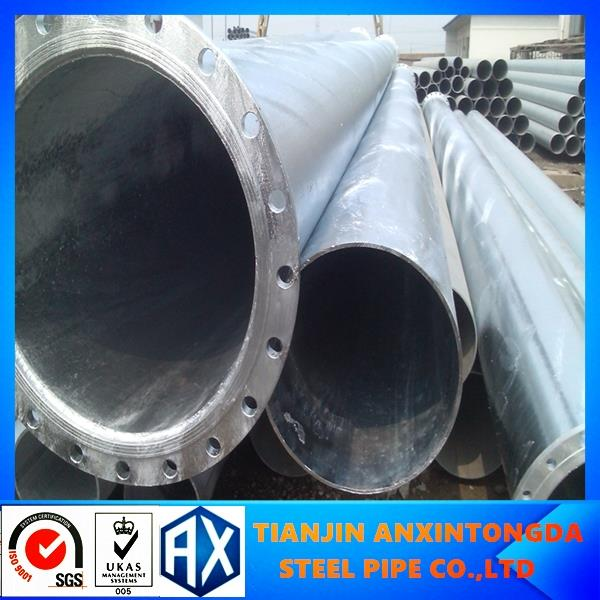 galvanized steel pipe for thailand!erw pre galvanized pipe