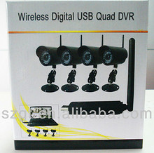 Wholesales High Quality Mini USB Wireless Camera And Receiver 2.4 GHz 4 Channel Webcam For Laptop