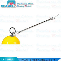 Stainless Steel Buoy Quick Release Mooring Hook Dia 60mm length 320mm