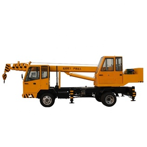 mobile crane 5 ton with cable winch GNQY-Z5
