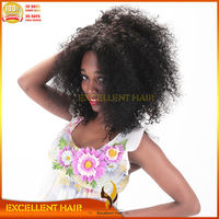 100 brazilian remy human hair african american afro curly wig for black women