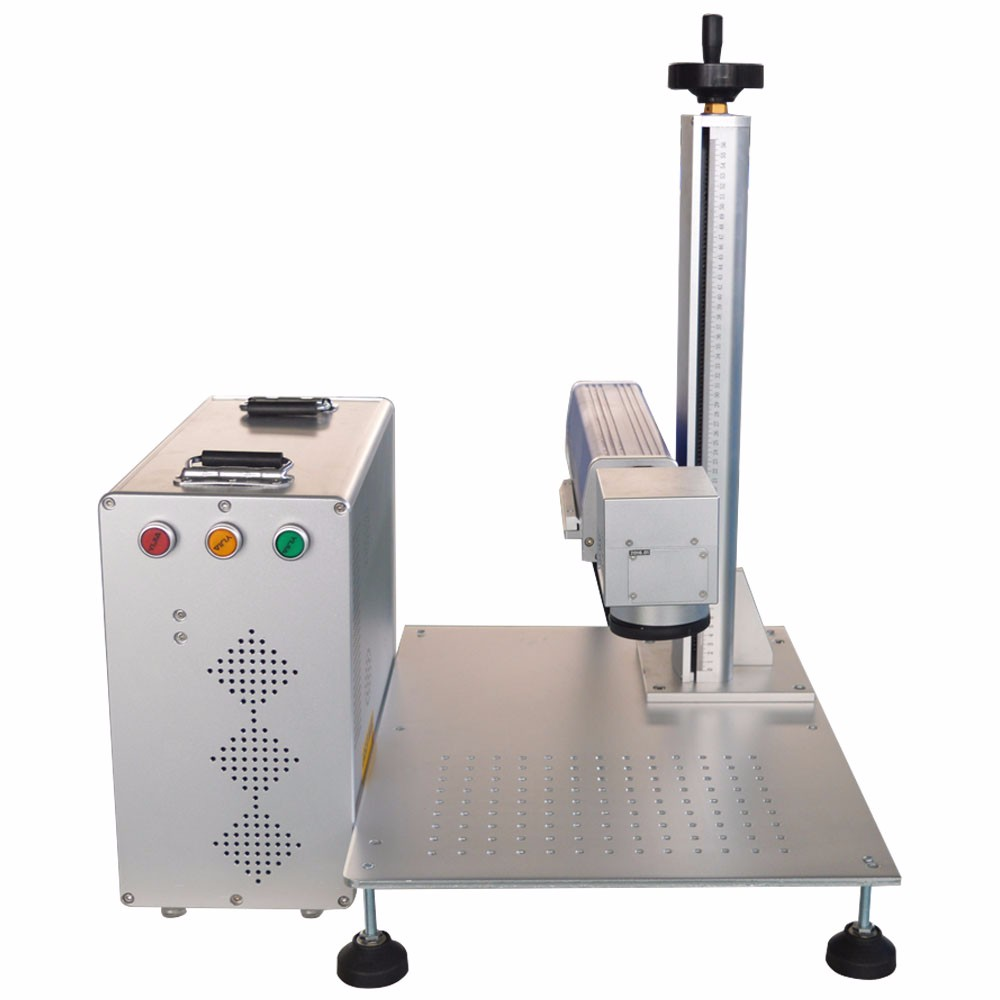separated body stainless steel laser printing machine fiber laser marking machine for gold silver