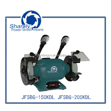 Hot 150mm bench grinder with OEM(SBG-150KDL),with 150mm wheel for hot selling grinder use machine