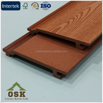 OW-156-21 osk high quality waterproof wpc decorative exterior wall cladding panel