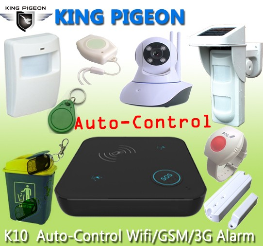 The Most Popular GSM SMS 3G wireless wifi camera system with 433Mhz