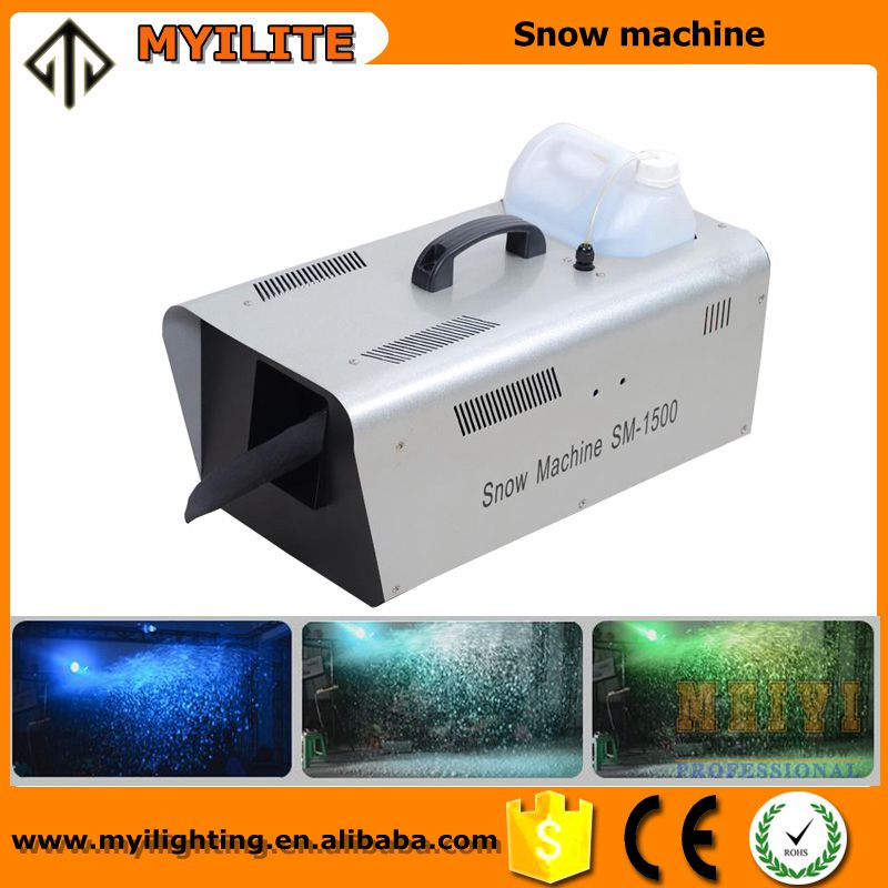Professional romantic stage effect machine 1500W snow maker machine
