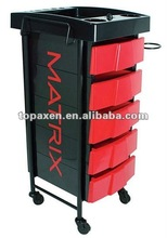 Direct Salon Furniture Milano Pink/Black Salon Trolley