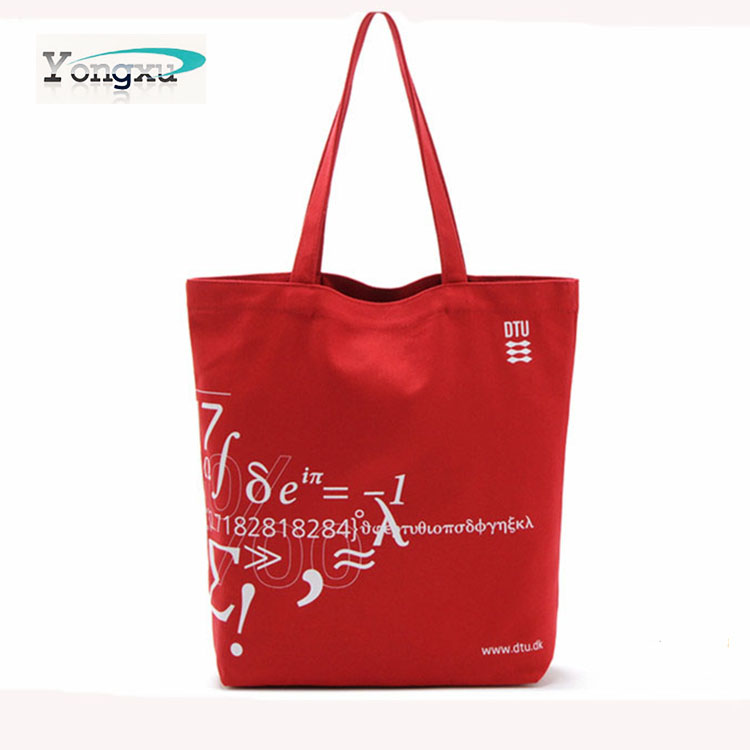2015 new fashion recycled cotton canvas tote bags,. natural organic cotton carry hangbags