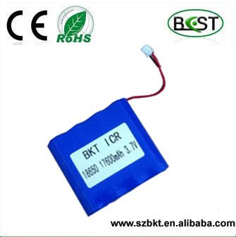 type 3.7 v li-ion 18650 17600mah 1S8P 3.7v icr 18650 li-ion rechargeable battery