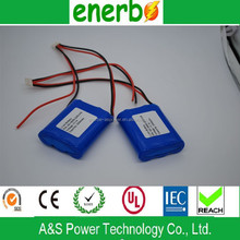 Laptop battery 18650 lithium ion rechargeable battery pack 11.1v 2200mAh for sales