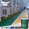 Liquid plastic scratch resistant epoxy resin floor coating