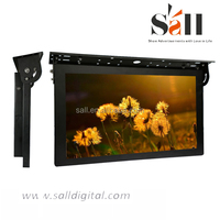 19 Inch HD Input Coach LCD TV Advertising Display