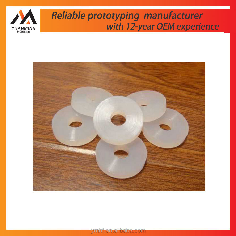 Factory good quality small rubber parts plastic injection rapid prototype in Suzhou