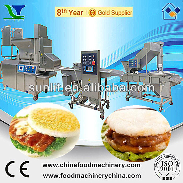 Automatic Beef Fish Meat Hamburger Burger Processing Machines