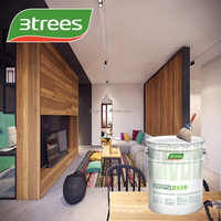 3TREES Anti-Alkali Odorless 5 In 1 Interior Emulsion Paint
