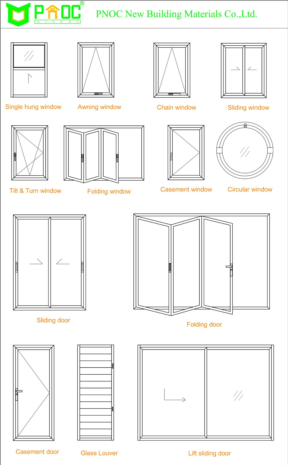 Aluminum Casement Window And Prefabricated Windows And