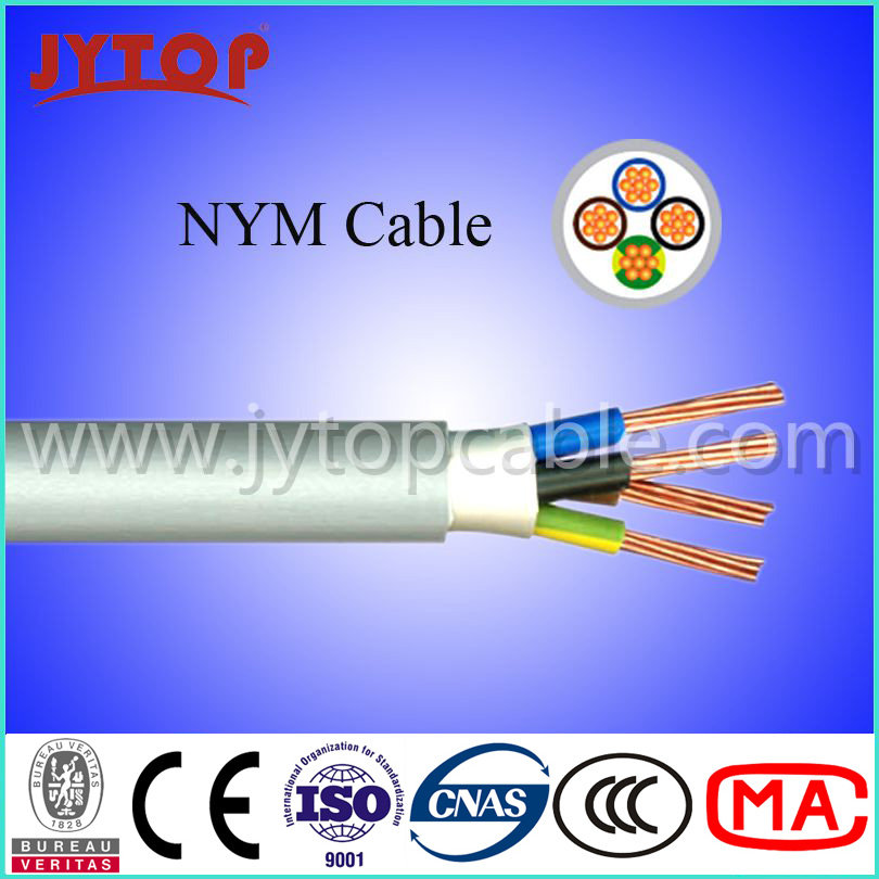 300/500V Kabel Nym, Nym Cable 3X2.5mm NYM-J Cable