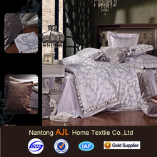 Hot New 4PCS Bedding Sets Luxury Jacquard Duvet Cover Bedspread Pillowcase For Queen King Size