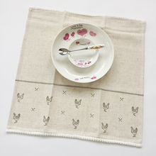 china supplier in stock 100 linen plain white tea towel, kitchen towels