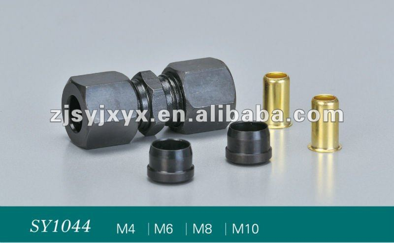 iron and brass male thread connectors seven parts made in China