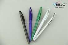 Hot selling professional manufacture logo plastic ballpoint pen in proper price