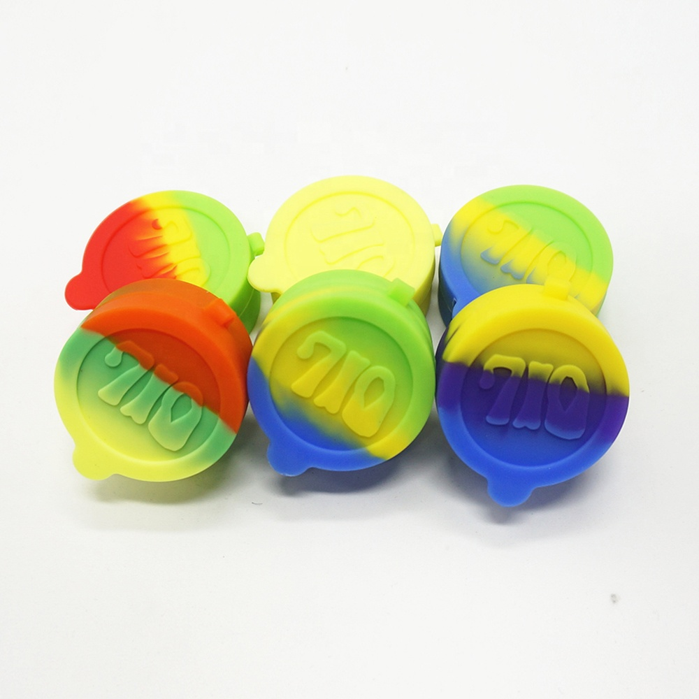 Factory Direct Supply Durable high quality reusable small ball non-stick concentrate silicone container wax