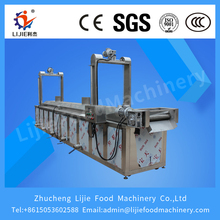 factory supply LJ-3500 50-150KG/h kfc chicken/potato chips frying machine