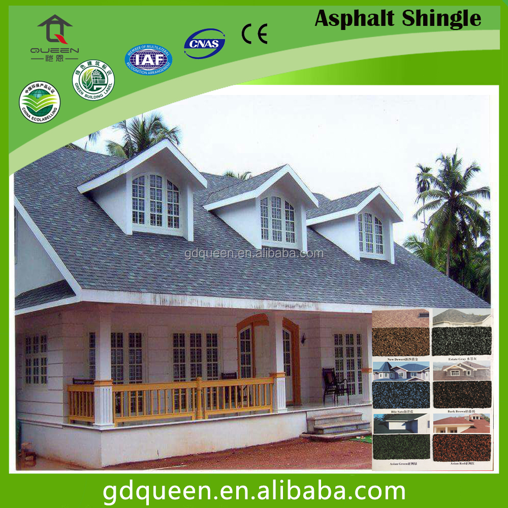 Cheap Goethe Asphalt Shingles Roofing Tiles New Building Material
