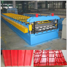 ZT1000 high rib roofing sheet roll forming making machine