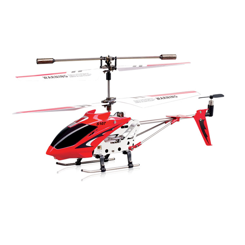 Syma S107G RC Red Helicopter with Gyro