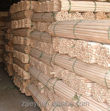 Customized processing all kinds of round wooden poles,bamboo poles
