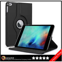 Keno High Quality 360 Degree Rotation Standing PU Leather Case For iPad Pro