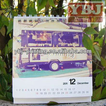 Promotional2015 Desk flip calendars,desk calendar designs